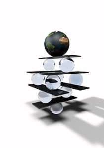 Marbles balancing